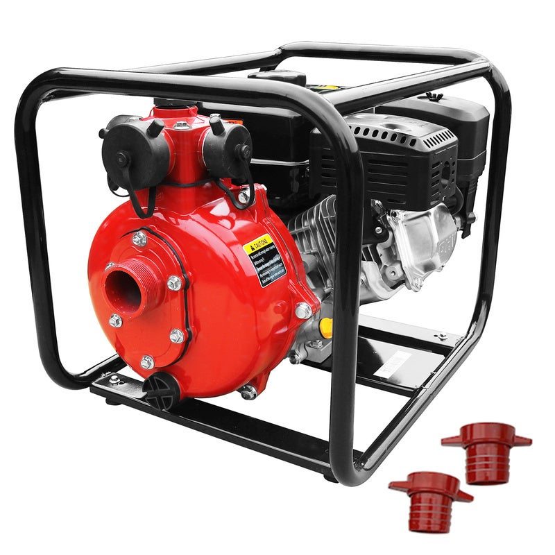 "8HP 1.5"" &1.0"" Petrol High Pressure Water Transfer Pump Irrigation Fire Fighting"