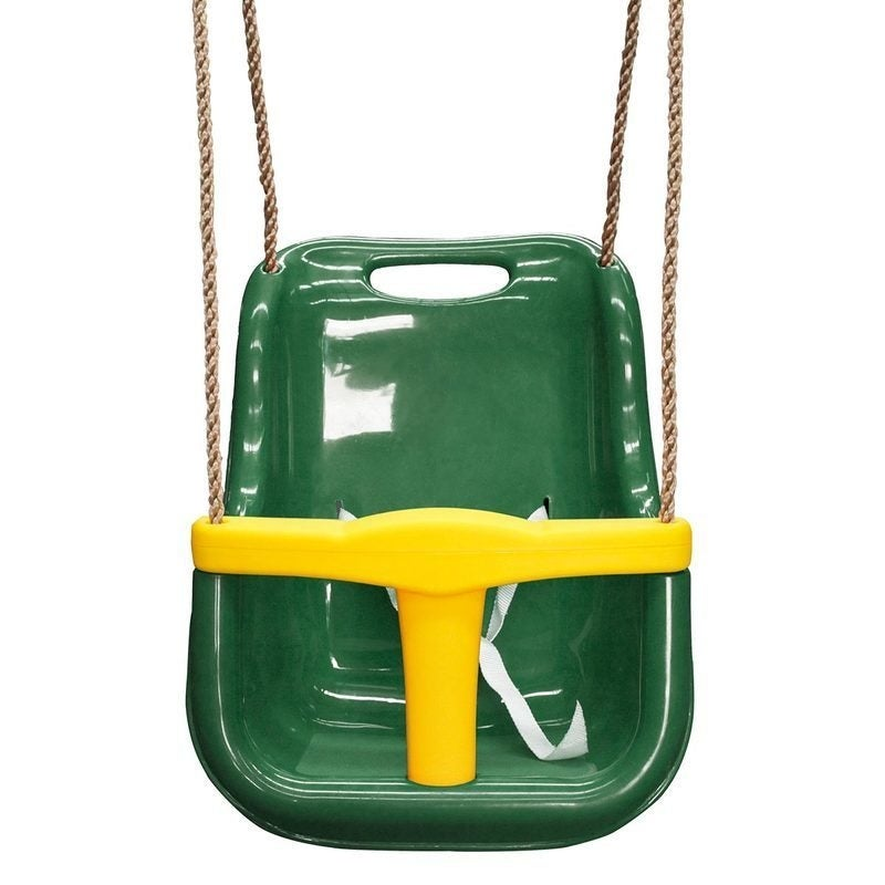 Baby Seat - Green & Yellow