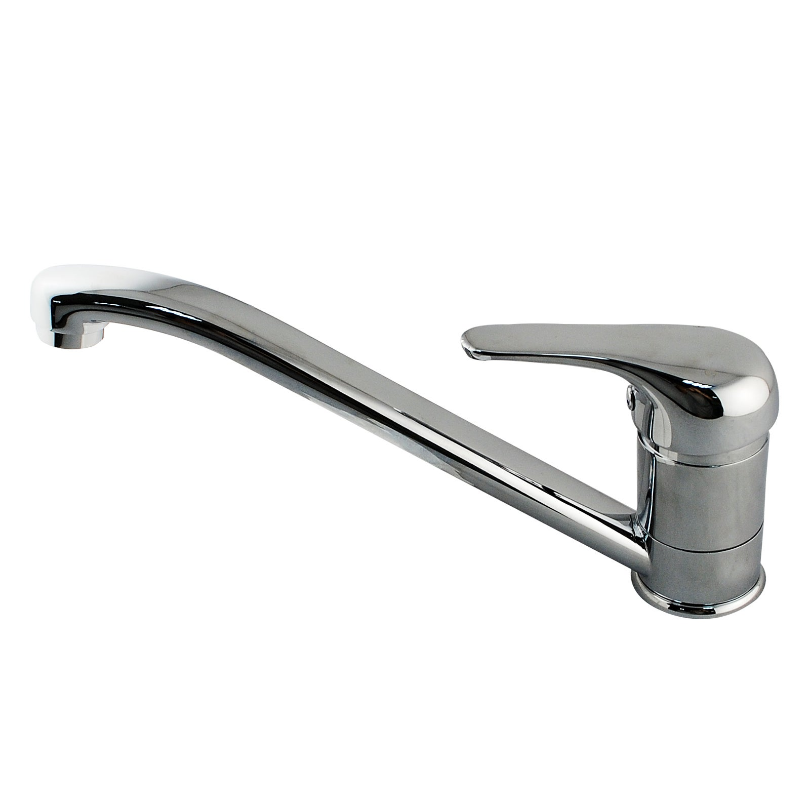 Kitchen Chrome Mixer Tap 360 degree Swivel Spout Vanity Bathroom tap Watermarked & WELS