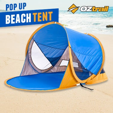 OzTrail Beach Pop Up Tent - Summer Must-Have!