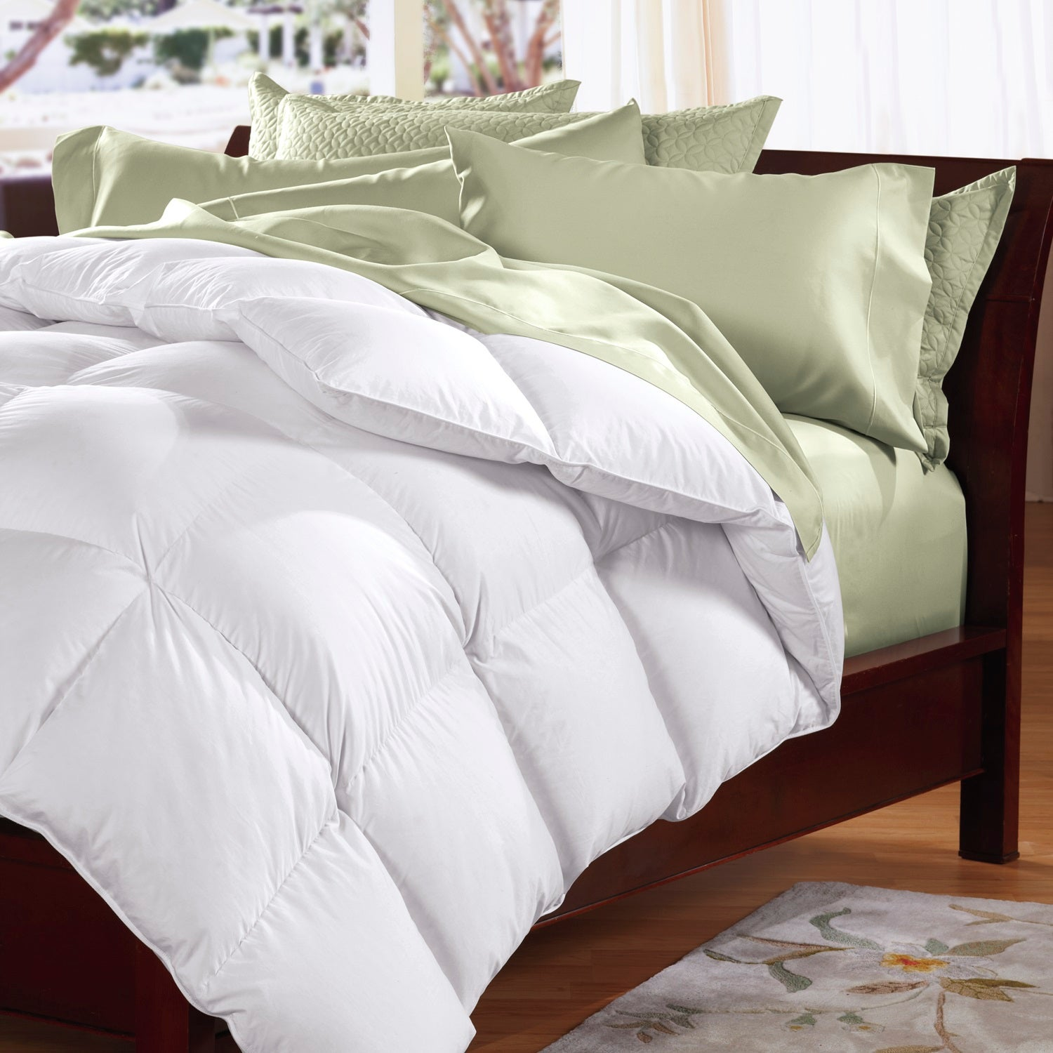 500GSM Soft Goose Feather Down Quilt Duvet Doona 95% Feather 5% Down All-Seasons