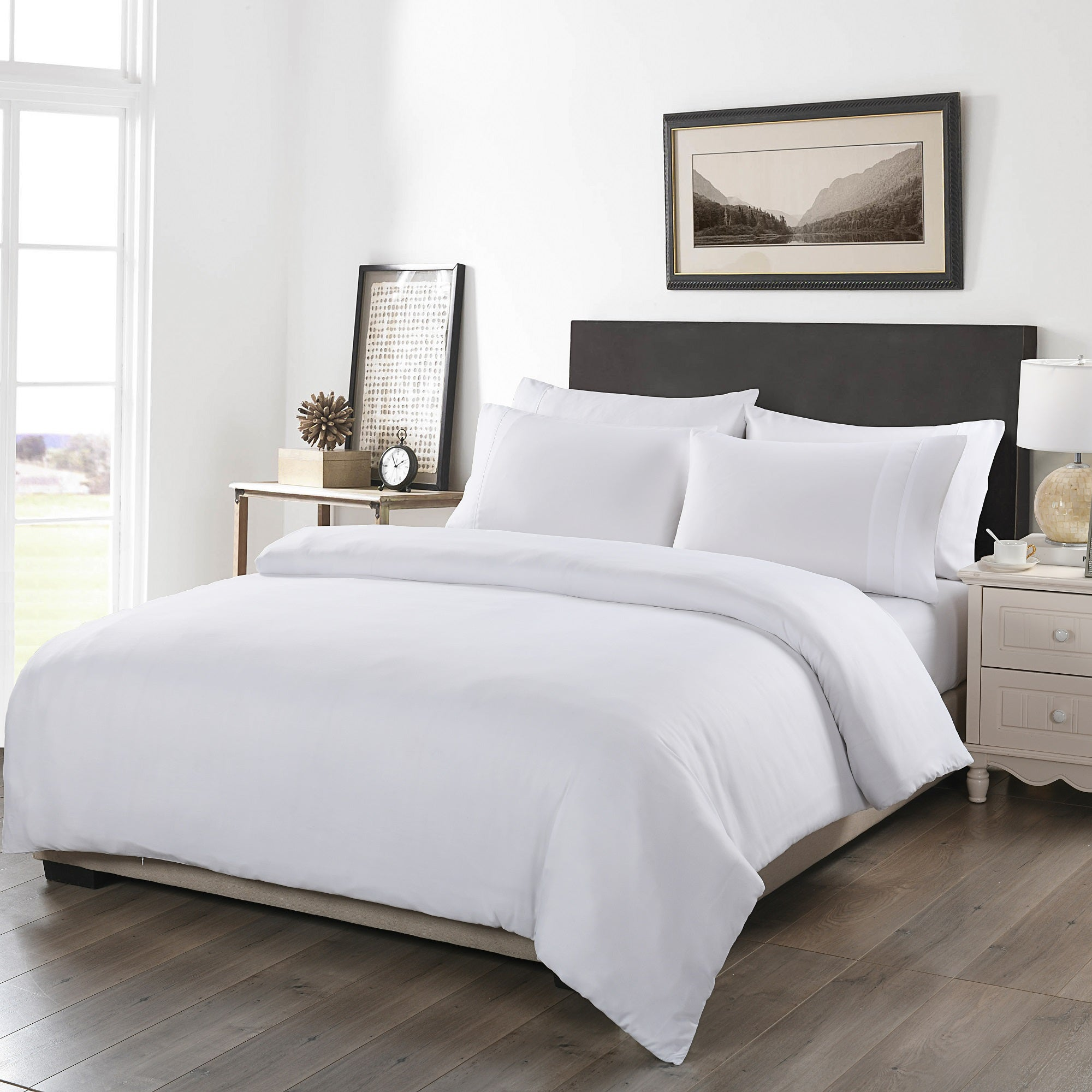 Royal Comfort 1200TC 6 Piece Fitted Sheet Quilt Cover & Pillowcase Set UltraSoft