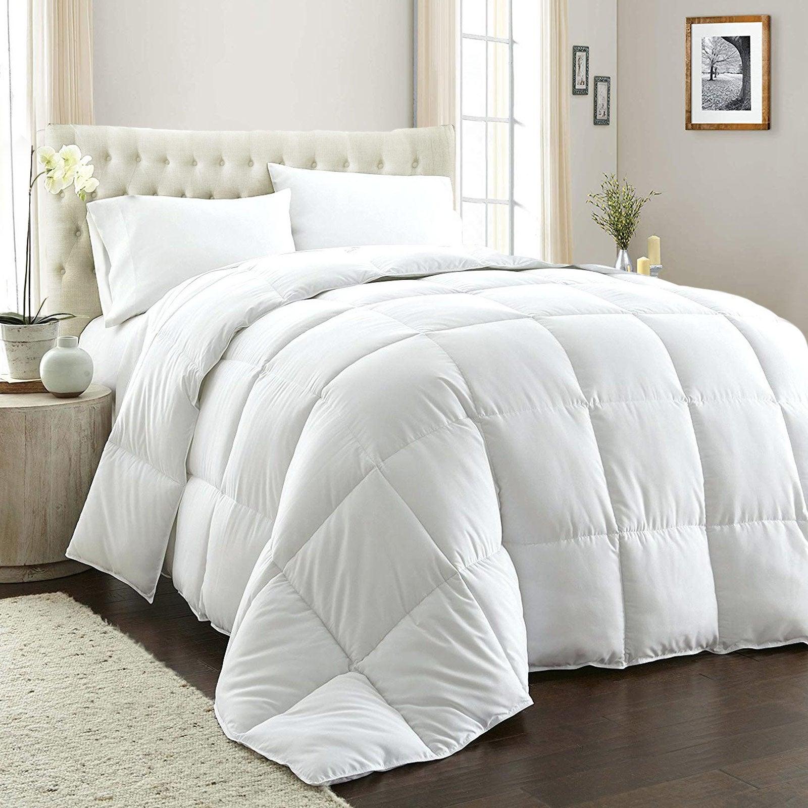 Royal Comfort 800GSM Quilt Down Alternative Doona Duvet Cotton Cover Hotel Grade