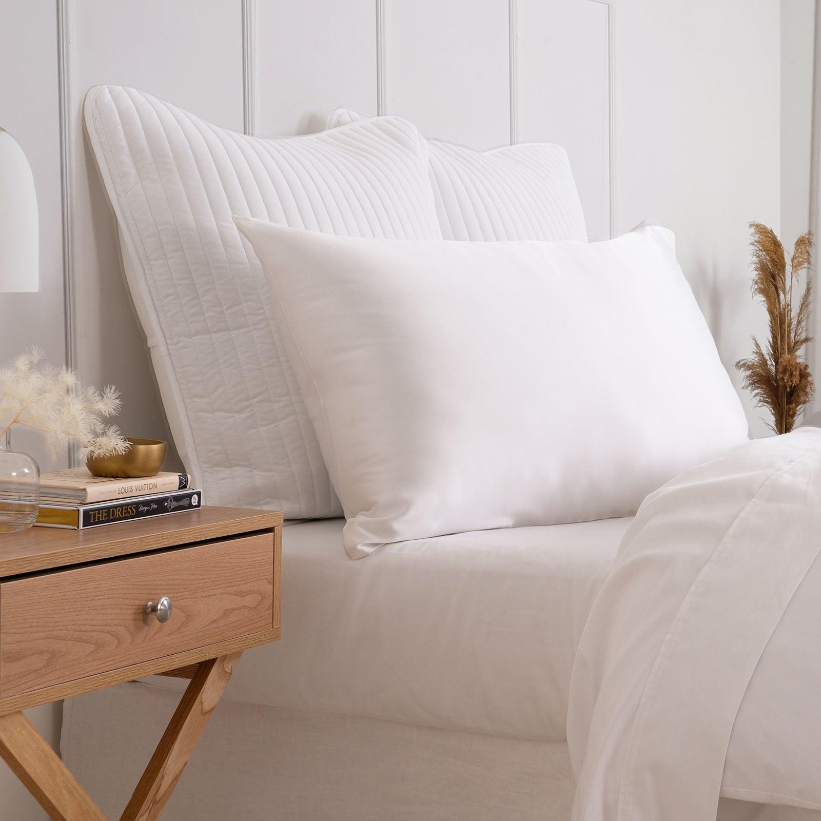 Royal Comfort Pure Silk Pillow Case 100% Mulberry Silk Hypoallergenic Pillowcase
