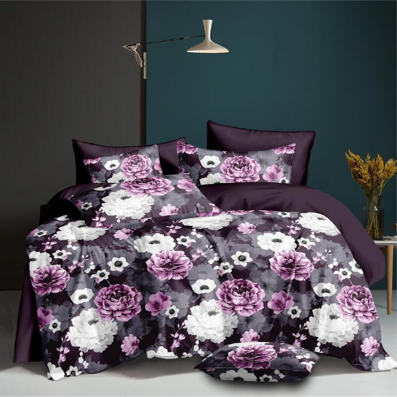 Violet Park Design Quilt Cover Set