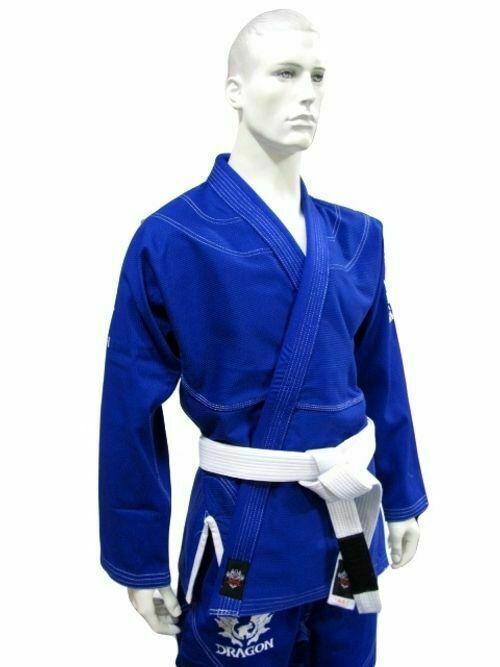 DRAGON V2 450gsm BJJ Gi Jiu Jitsu Uniform - IBJJF Approved (Blue)