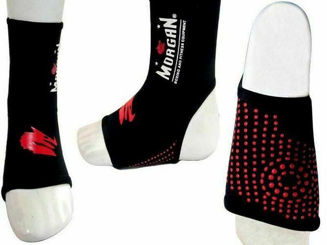 MORGAN V2 Platinum MMA Kick Boxing Ankle Guard Protector (Pair)