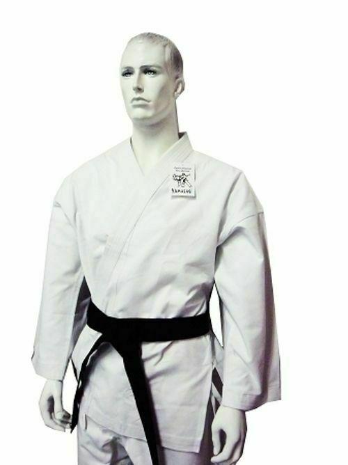 YAMASAKI Gold Deluxe Brushed Canvas Karate Uniform-14Oz Kids to Adults Size