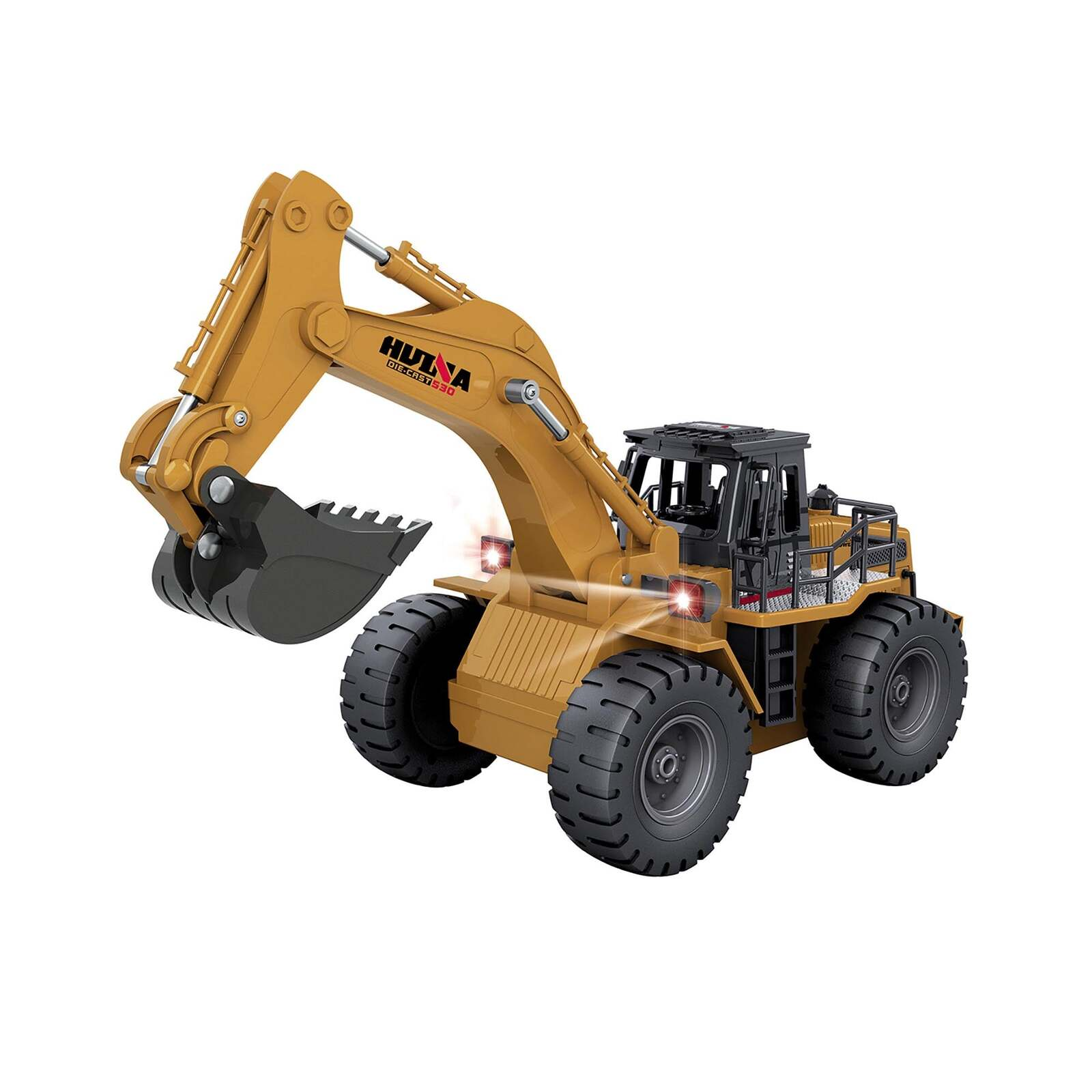 RC Toy Excavator with 6 Channel Remote
