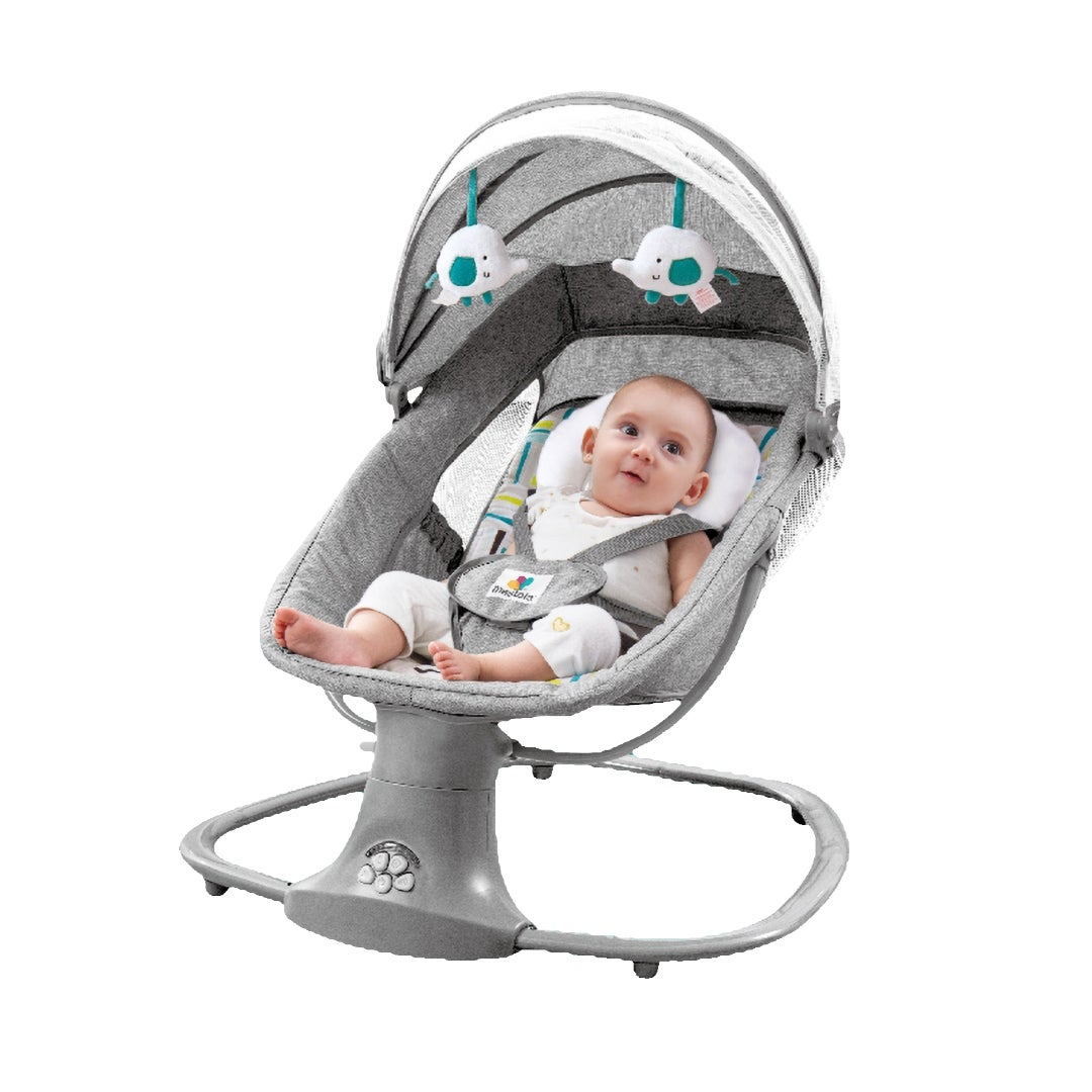 Mastela Baby Swing Bouncer New born Electric Leaf Deluxe Bassinet Remote Upto 3 Years