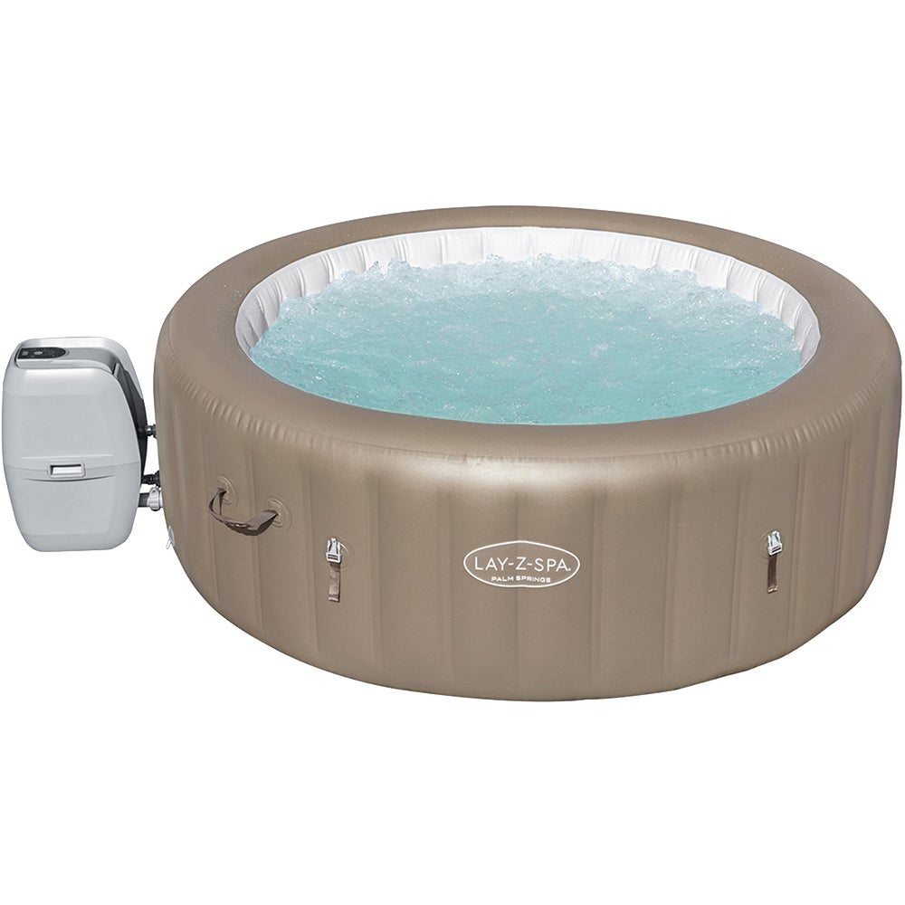 Bestway Inflatable Spa Hot Tub Lay Z Outdoor Pool Portable Jacuzzi 4-6 Adult 140 Jets