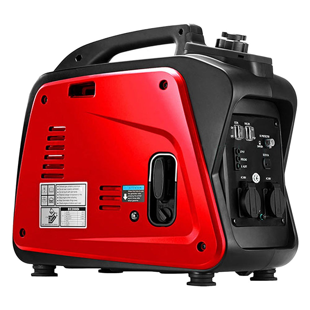 Gentrax Portable Inverter Generator 2.0KW Max 1.7KW Rated Pure Sine Camping Petrol