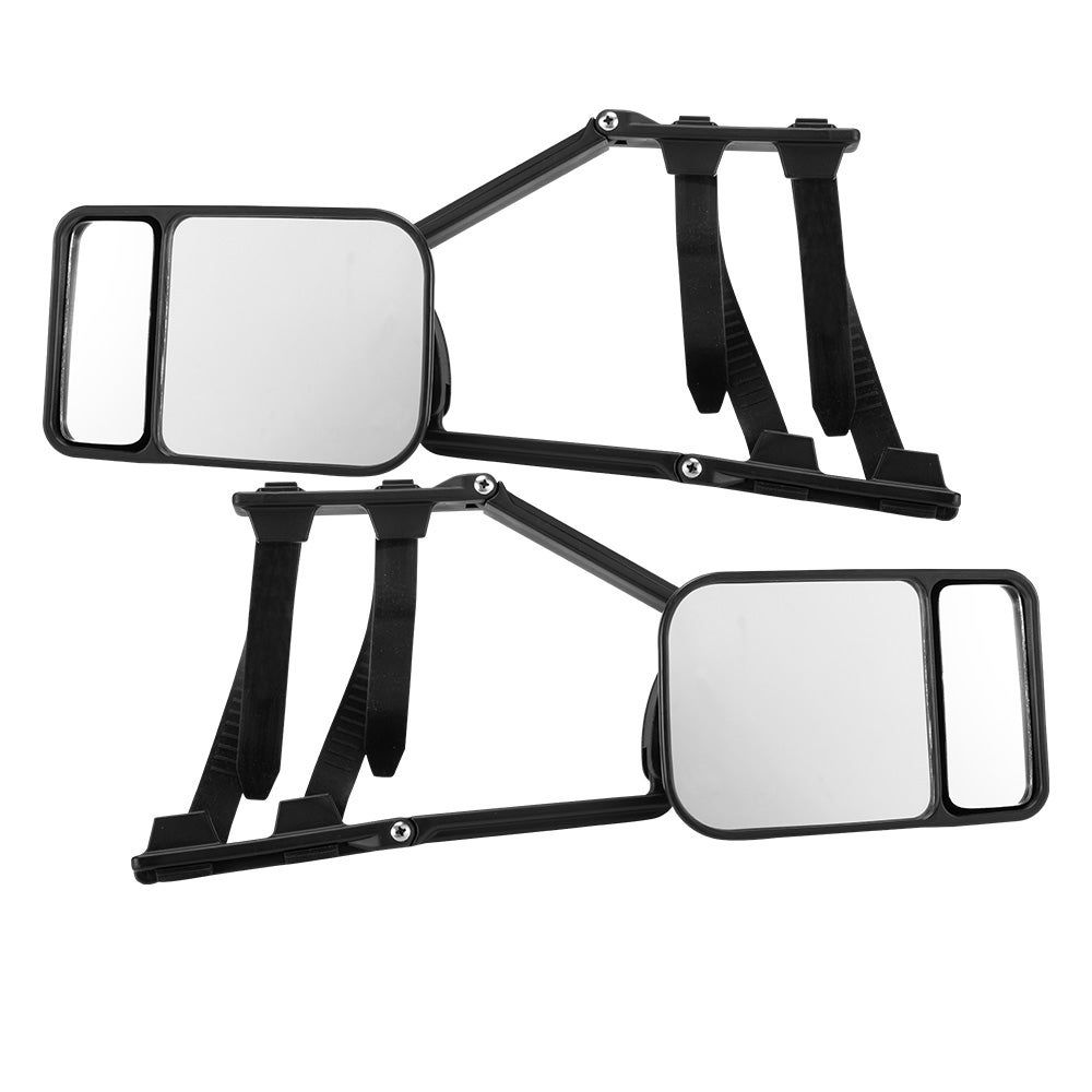 SAN HIMA 2x Towing Mirrors Clip Universal Multi Trailer Caravan Car Truck Vehicle 4WD Pair
