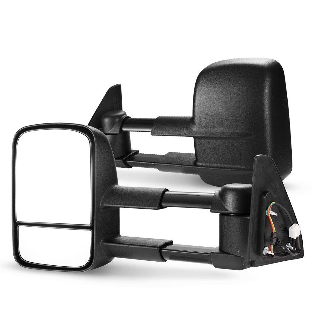 SAN HIMA Pair Towing Extendable Mirrors for Toyota Prado 120 Series Wagon 2003 - 2009