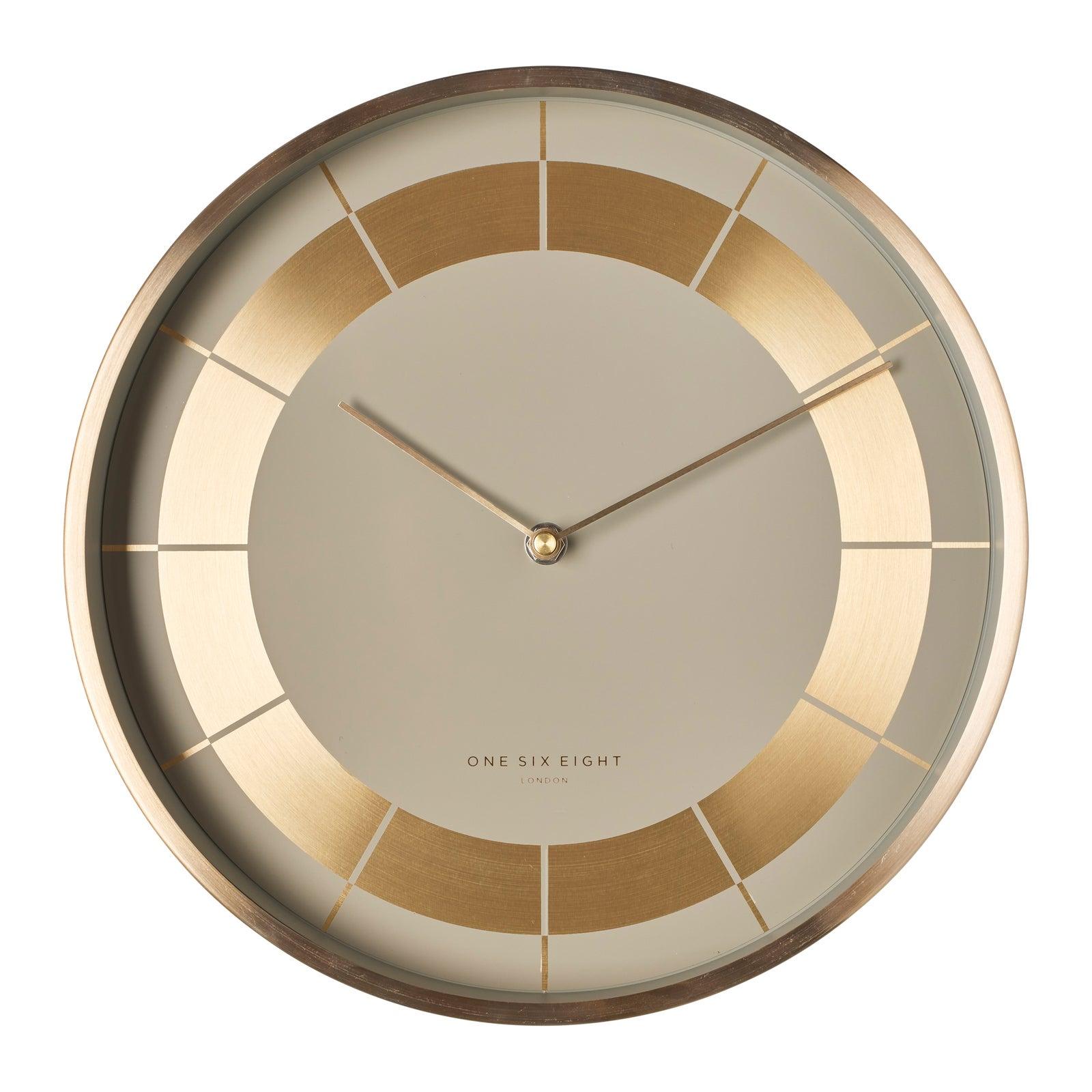 ARLO 30cm Nude Silent Wall Clock