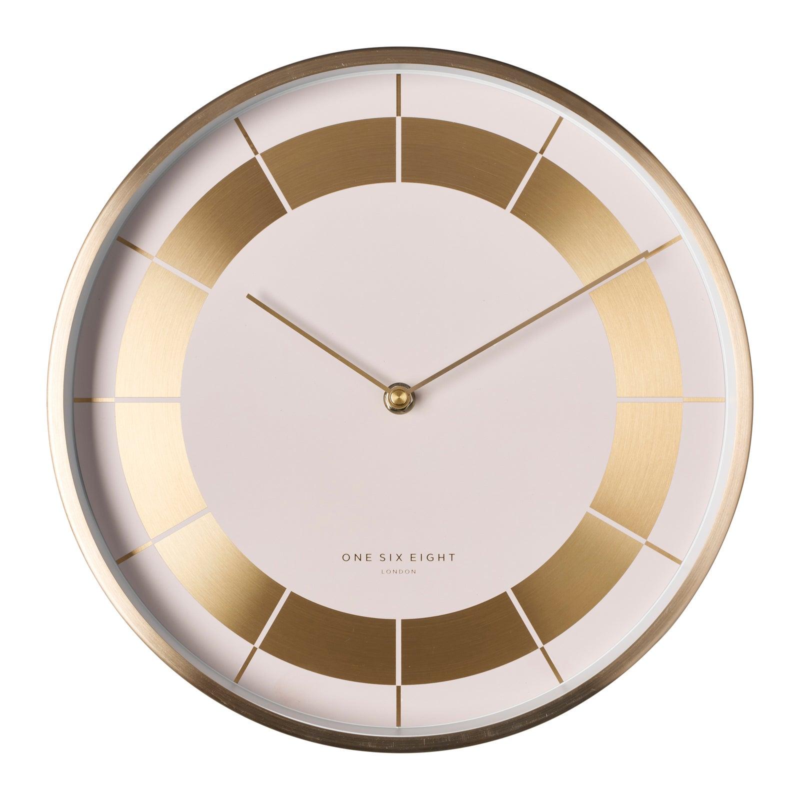 ARLO 30cm White Silent Wall Clock