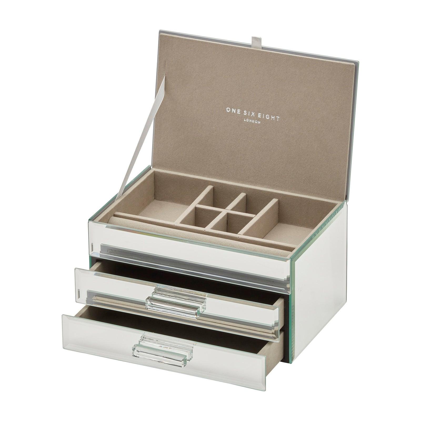 GABRIELLA Mirror Medium Jewellery Box