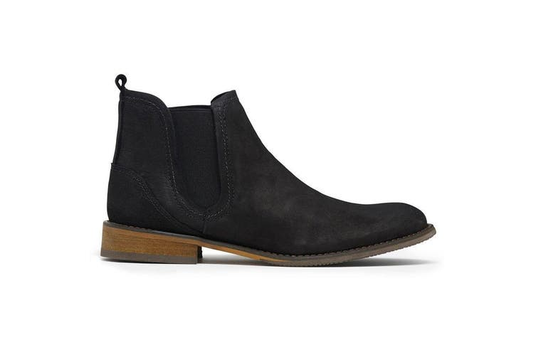 Mens Julius Marlow Abort Black Shoes Casual Work Dress Leather Boots