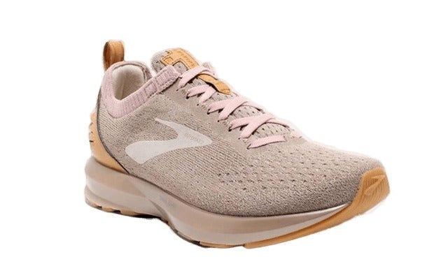 NEW WOMENS BROOKS LEVITATE 2 LE RUNNERS RUNNING WALKING FITNESS TAN BEIGE SHOES