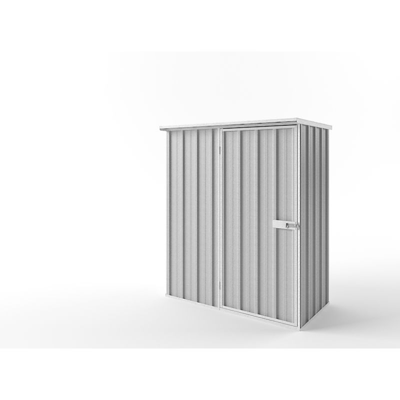 Small Steel Flat Roof Garden Storage Tool Shed Kit