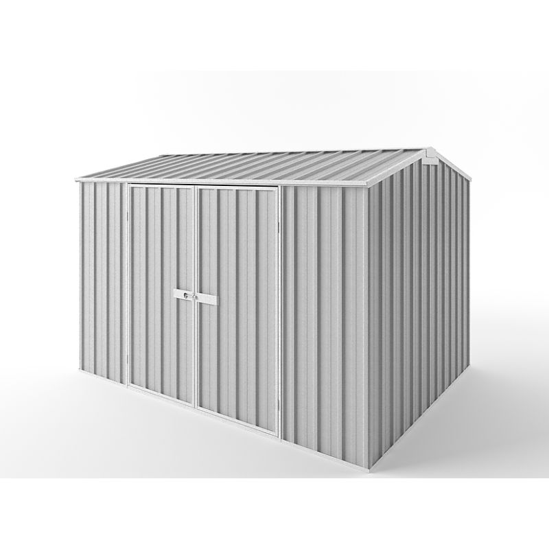 Outdoor Steel Gable Roof Storage Shed 3 x 2.25m