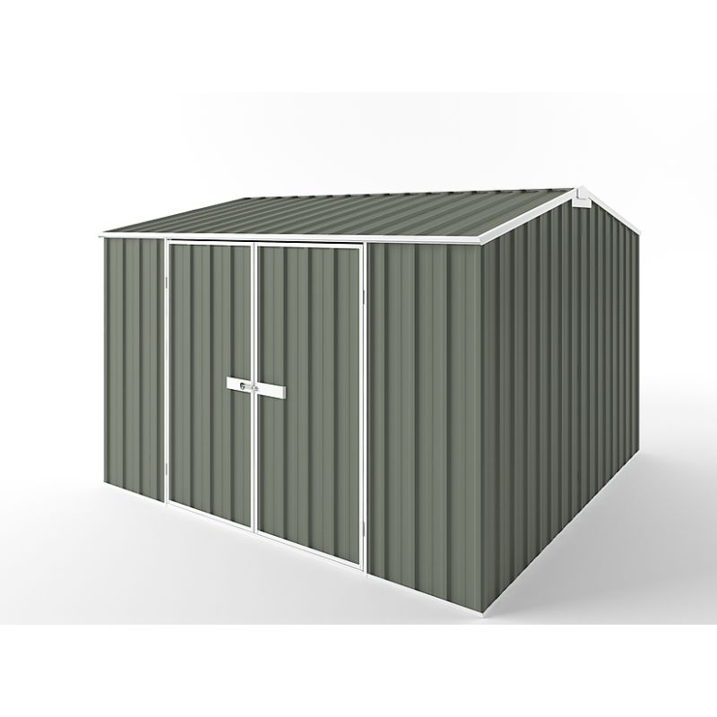 Storage Garden Shed w/ Gable Roof in 3 Colours 3x3m