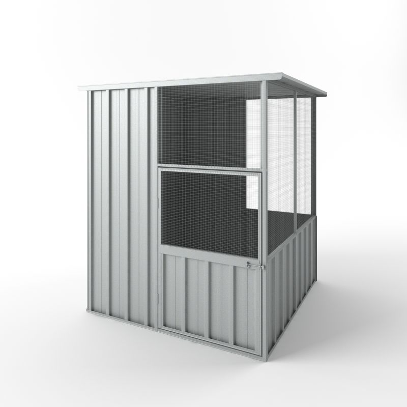 Large Outdoor Bird Aviary Cage Unpainted 1.5mX1.5m