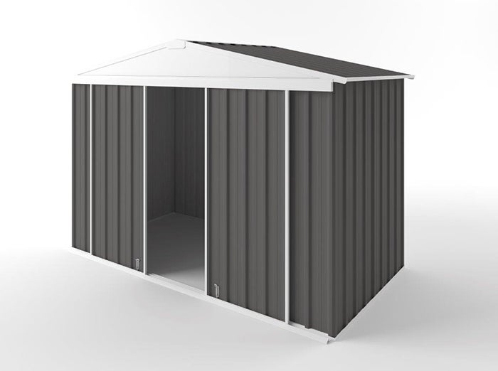 EasyShed Gable Slider Garden Shed 3.00m (w) x 1.50m (d) x 2.10m (h) in Colour