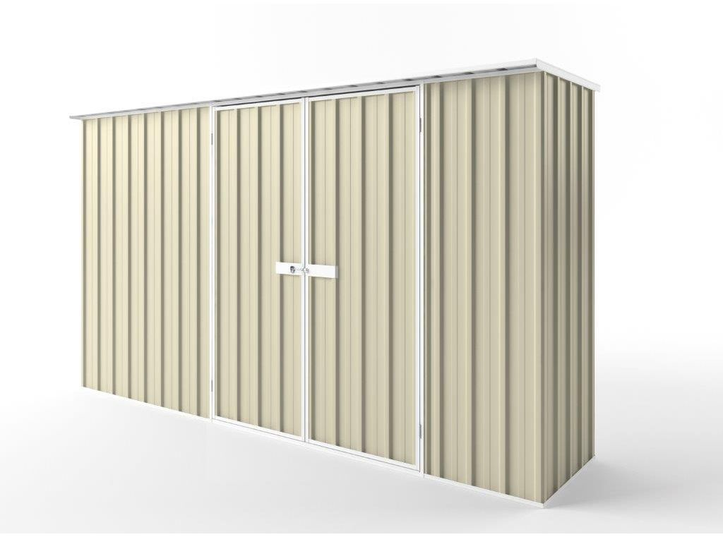 EasyShed Tall Flat Roof Garden Shed 3.75m (w) x 0.78m (d) x 2.12m (h) in Colour
