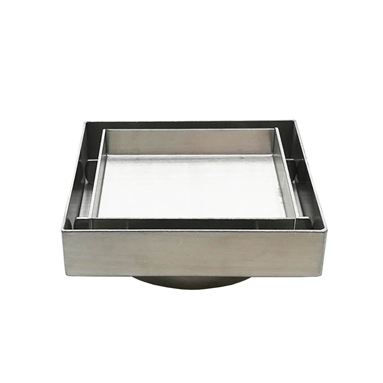 Brushed Gold PVD Stainless Steel Tile Insert 900×80 Floor Waste Panel Watermark