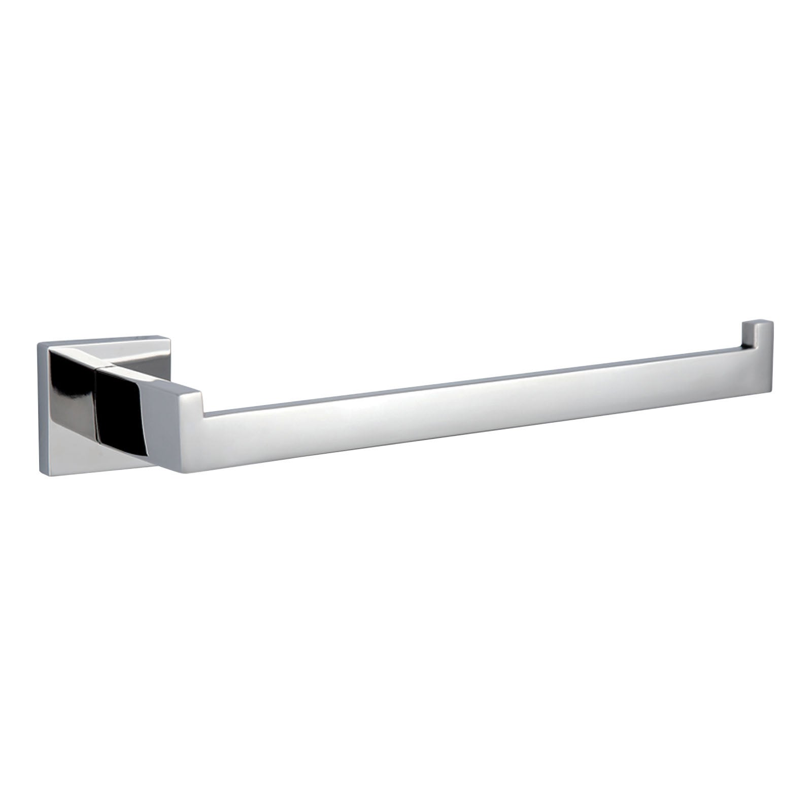 Hand Towel Rack Hook Square Holder Bright Bathroom SUS304 Accessories Wall Mount