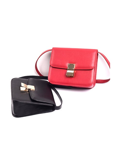 Buckle Square Mini Shoulder Bag