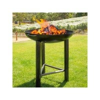 La Hacienda Pittsburgh Plancha 80cm Diameter Firepit with Cooking Surface / Grill
