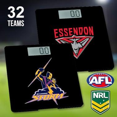 Official AFL & NRL Digital Bathroom Scales