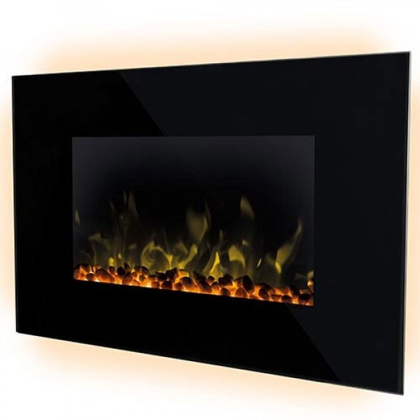 Dimplex 2.0kW Toluca Wall Mounted Electric Fire + LED Flame Effect