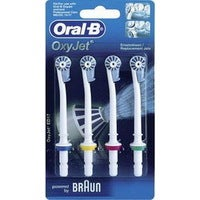 Oral-B Oxyjet ED17-4 Replacement Refills 4Pk