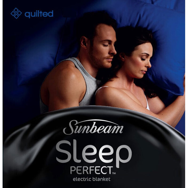 Sunbeam Sleep Perfect Quilted Queen, Sunbeam Sleep Perfect Quilted Electric Blanket Queen Bed Bl5451