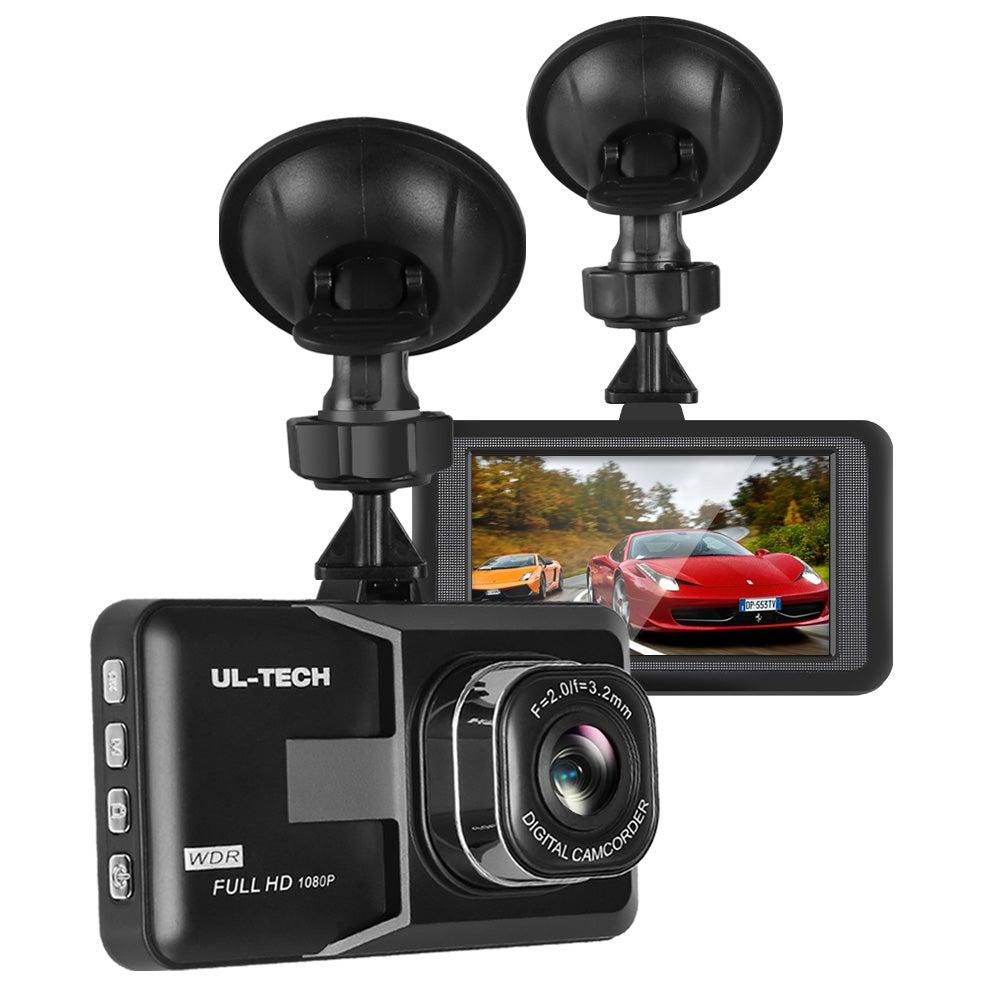 UL-TECH Dash Camera 1080P HD Cam Car Recorder DVR Video Vehicle Carmera 32GB