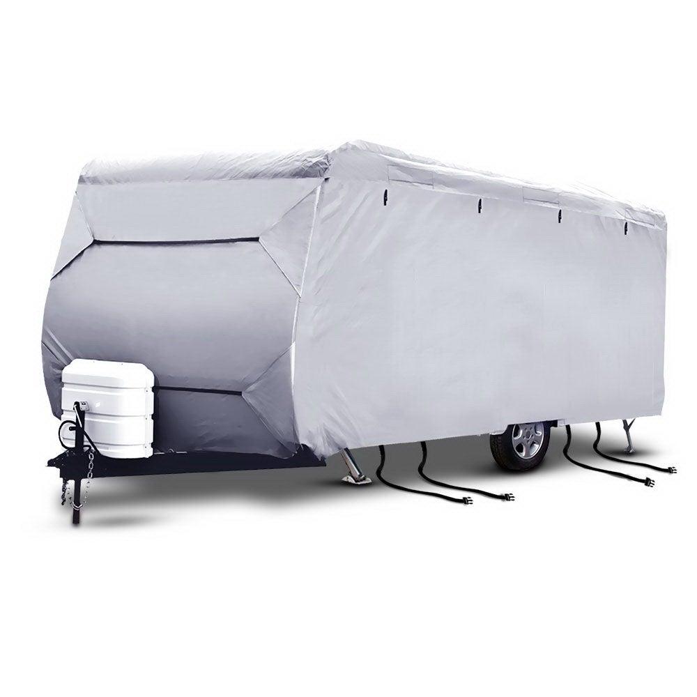 18-20ft Caravan Cover Campervan 4 Layer Heavy Duty UV Carry bag Covers