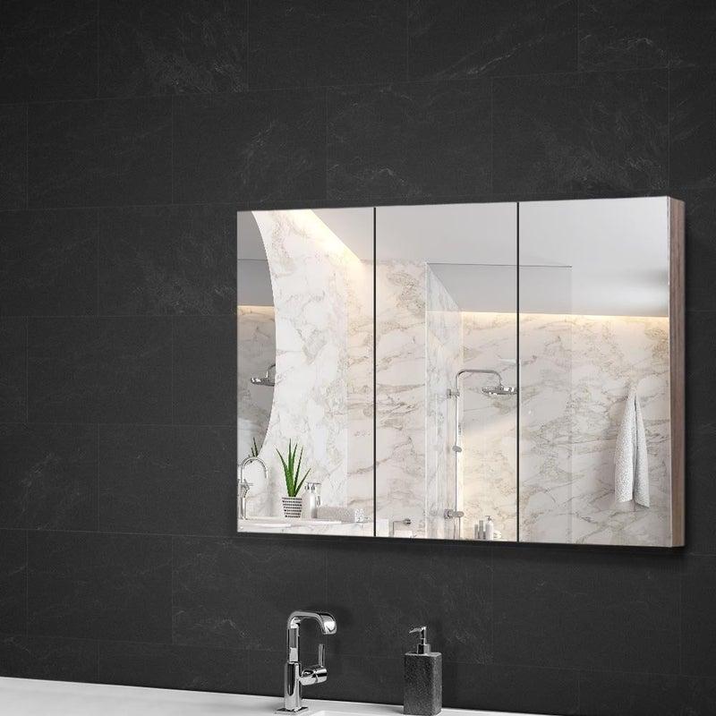 Cefito Bathroom Mirror Cabinet Storage Vanity Wall Hung Medicine Shaving 900x720 Buy Bathroom Cabinets 9350062179185