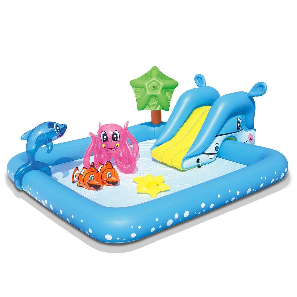 Bestway Inflatable Kids Play Pool Fantastic Aquarium Play Pools