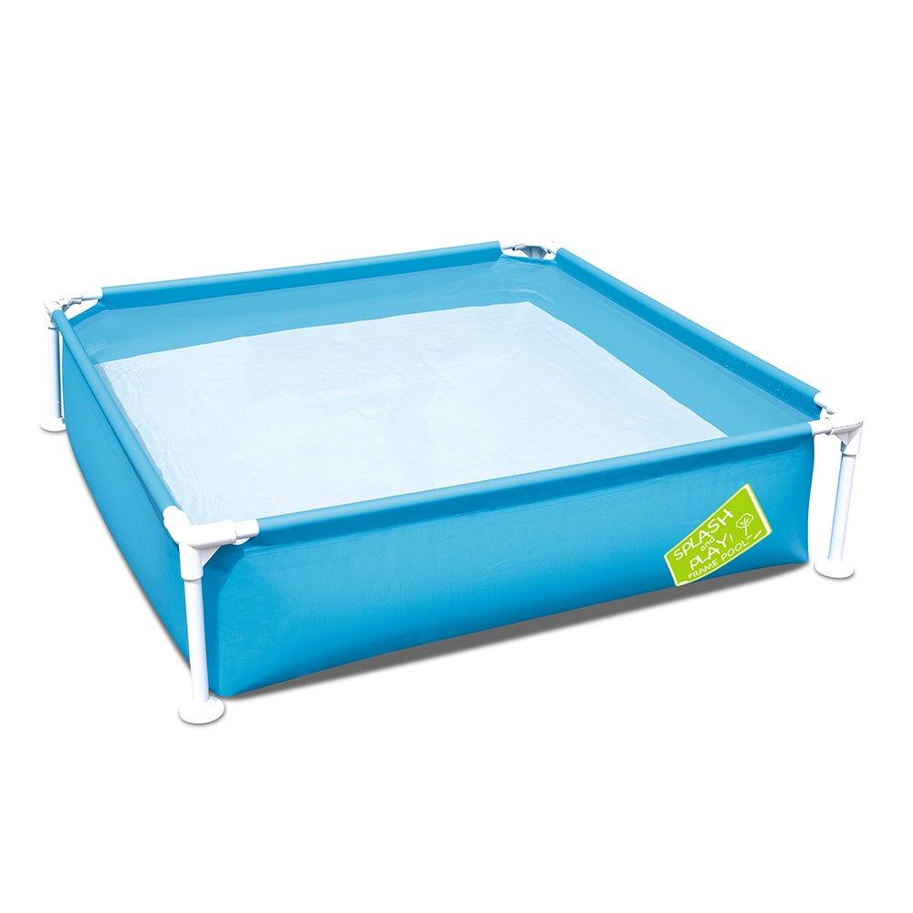 Bestway Kids Pool Play Inflatable Swimming pools Rust Metal Frame