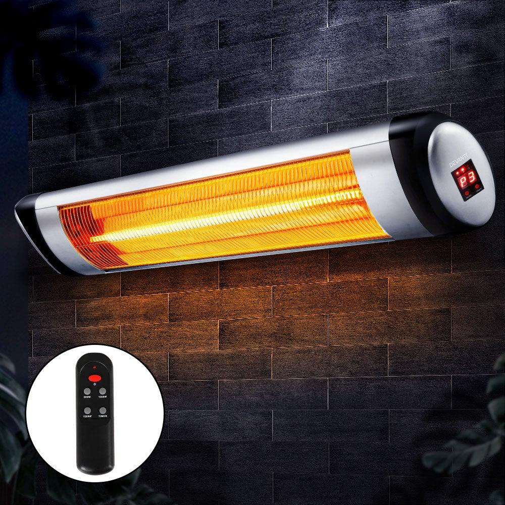 Devanti Electric Radiant Heater Outdoor Strip Heaters