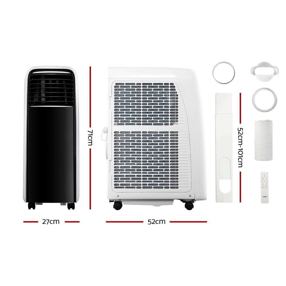 Devanti 9000BTU Portable Air Conditioner Mobile Fan Cooler 2500W