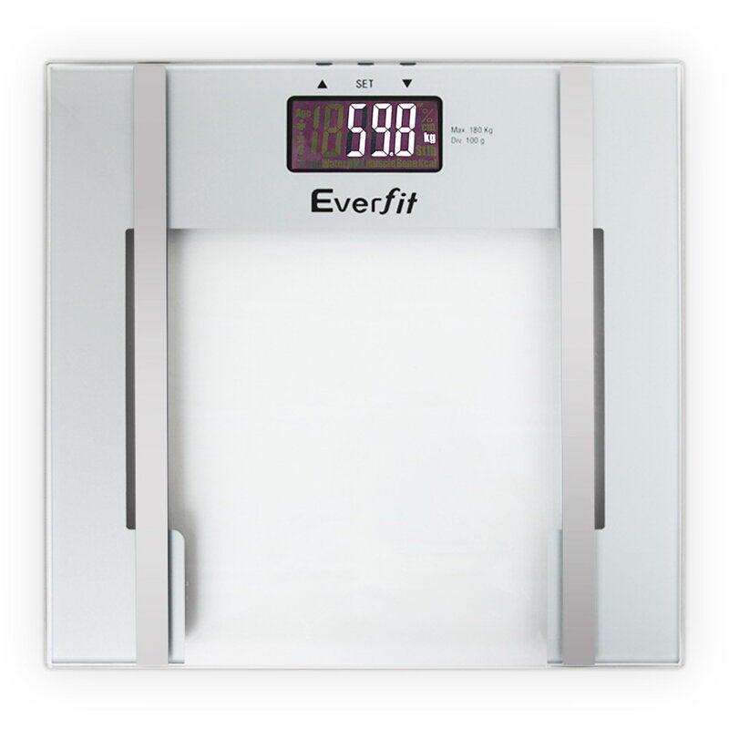 180KG Electronic Digital Body Fat Scale Scales Bathroom Monitor