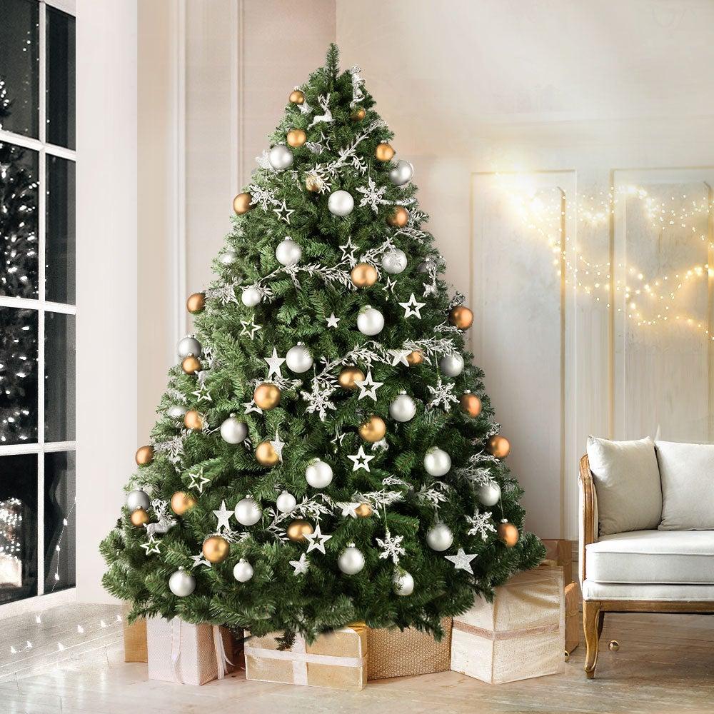Jingle Jollys 2.4M 8FT Christmas Tree Xmas Decoration Green Home Decor 1500 Tips