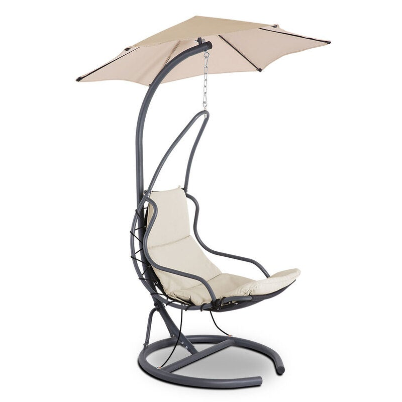 Gardeon Outdoor Swing Chair Hammock Hanging Canopy W Cushion Garden Furniture Buy Hanging Chairs 9350062189269