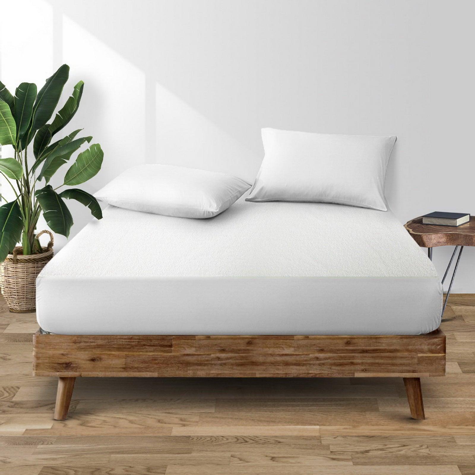 Giselle Bedding Mattress Protector Waterproof Bamboo Fiber