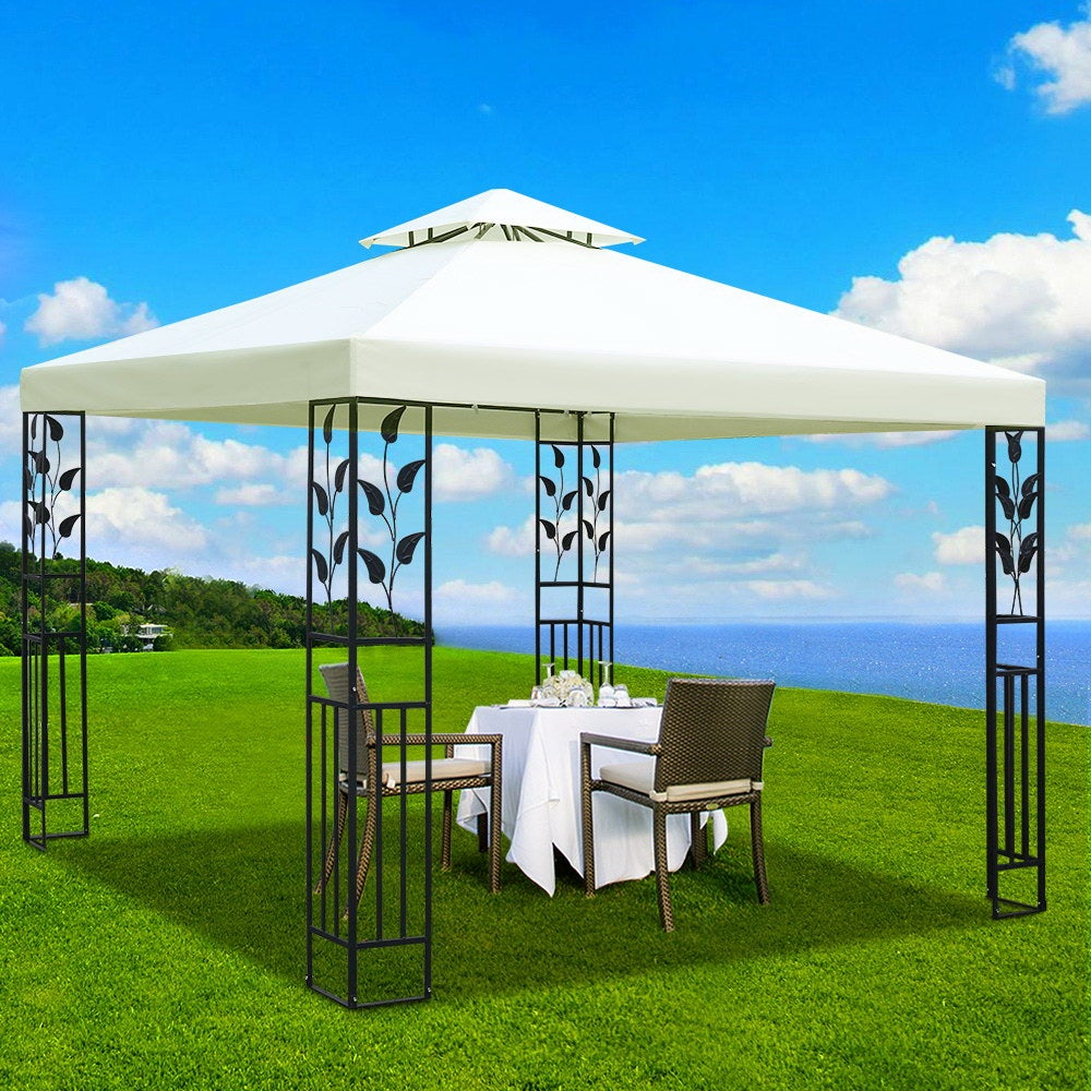 3x3m Party Outdoor Wedding Event Marquee Tent Iron Art Canopy