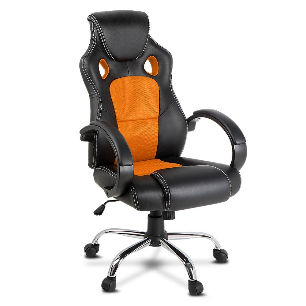 Artiss Maverick Office Gaming Chair Computer Seat Racing Orange
